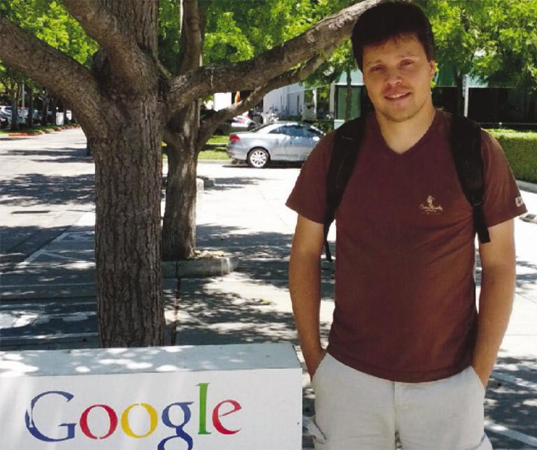 Un Réunionnais chez Google