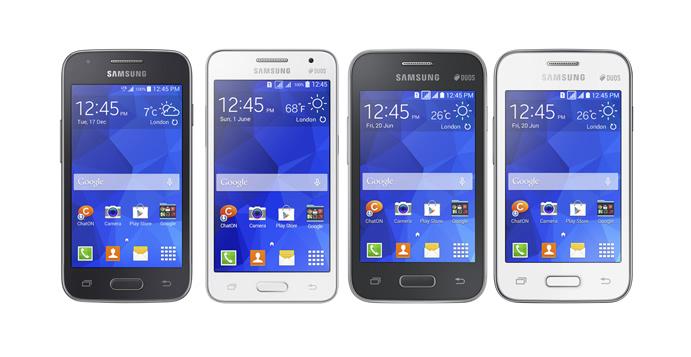 Samsung dévoile 4 nouveaux Galaxy : Core II, Star 2, Ace 4 et Young 2