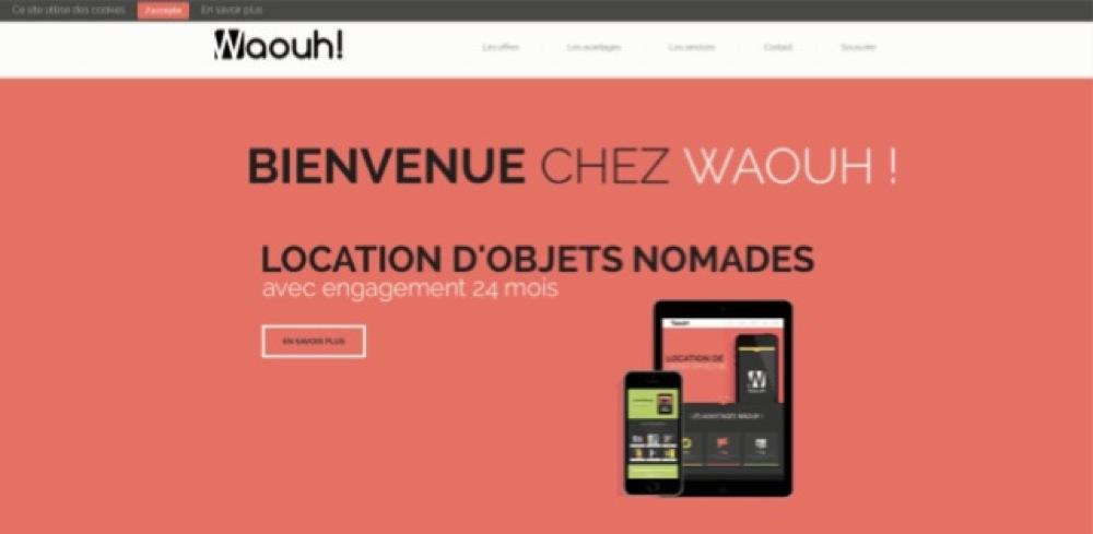 Waouh.re la location de smartphones et tablettes