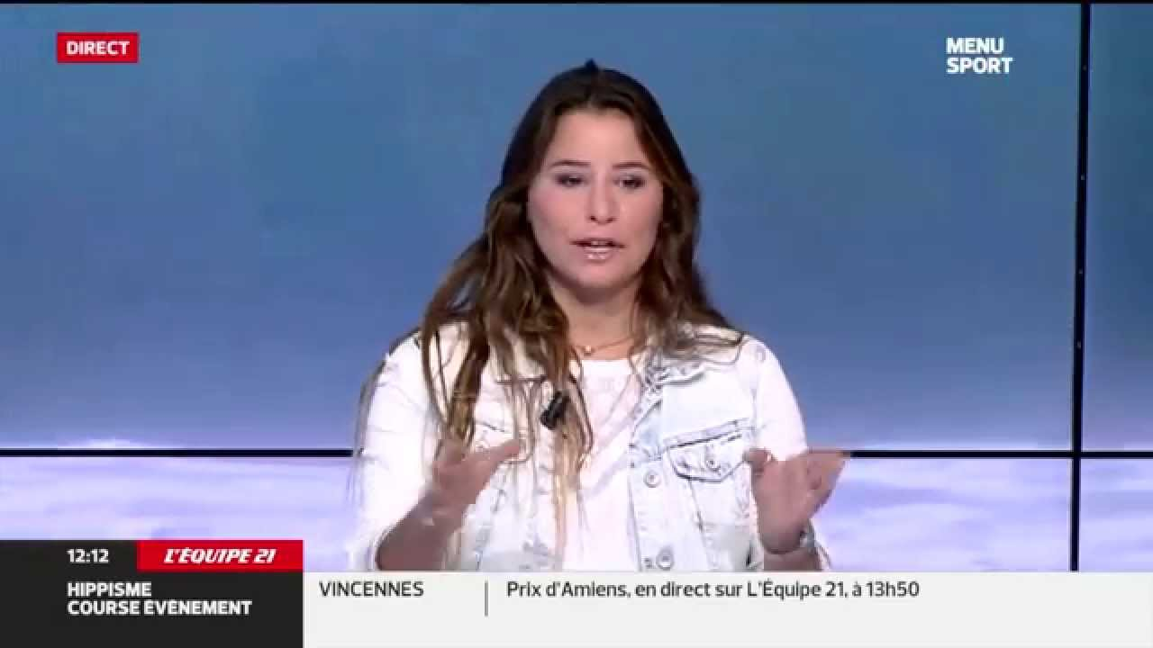 Johanne Defay sur L'EQUIPE 21