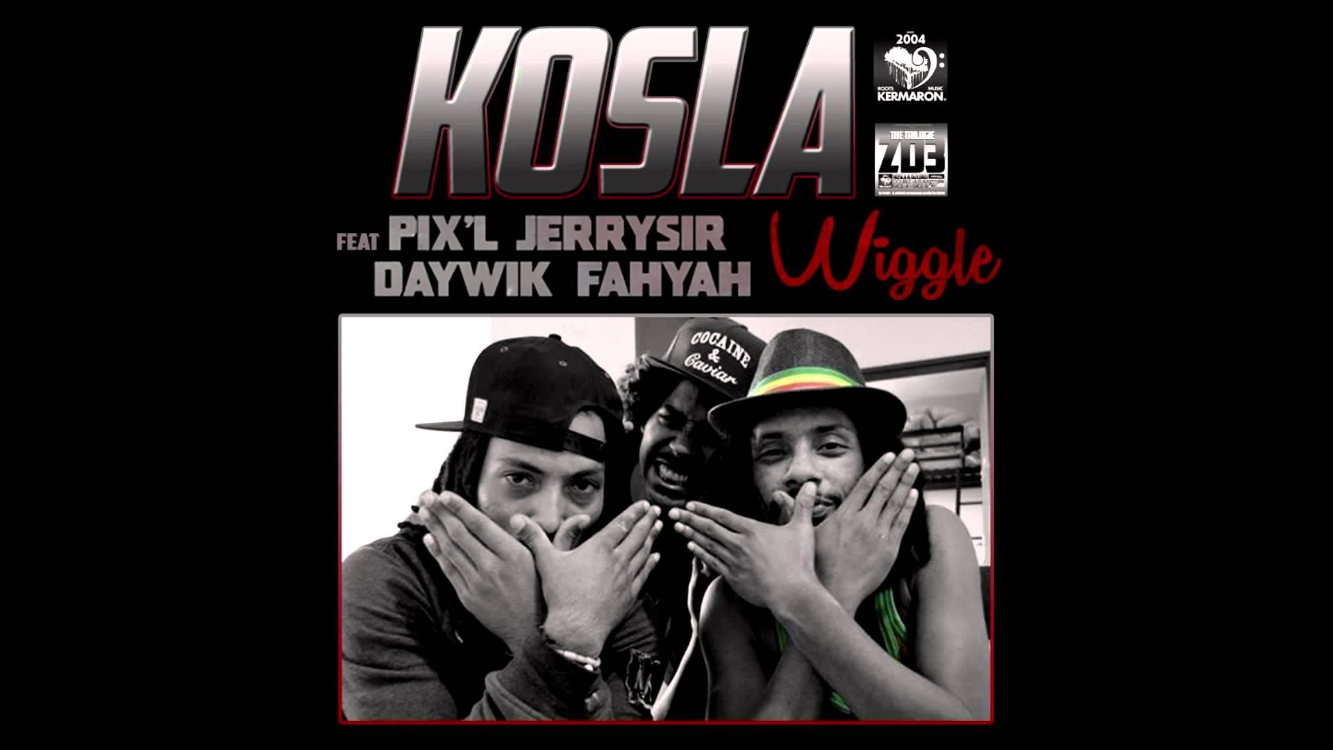 WIGGLE RMX – Kosla feat Pix'L, Daywik Fahyah & Jerry Sir