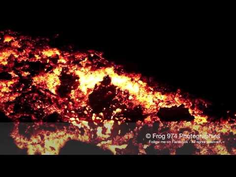Vidéo : 12 jours d'éruption du Piton de La Fournaise.