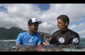 Surf: Jérémy Florès triomphe au Billabong Pro Tahiti 2015
