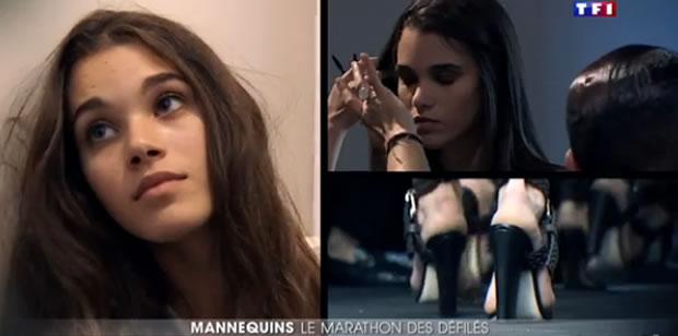 pauline hoarau fashion week 2015 paris2 Pauline Hoarau à la Fashion Week (Photos & vidéo du JT de TF1)