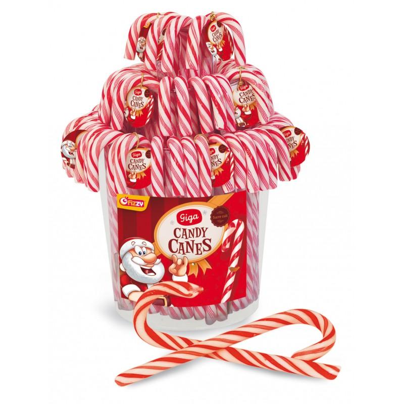 tubo de 60 giga candy cane Des friandises et du bon chocolat pour les fêtes, livrés chez vous