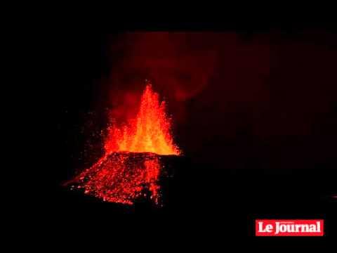 3ème phase de l'éruption : la vidéo