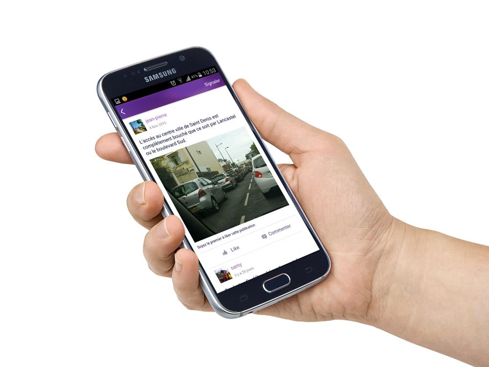 Samsung s6 Partaz, lapplication péï dentraide et de partage