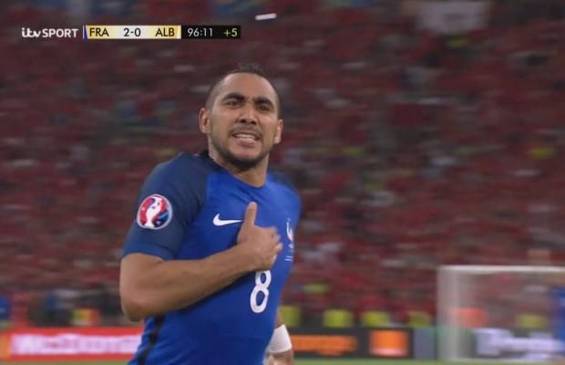 France – Albanie : Vidéo du but de Dimitri Payet – Euro 2016
