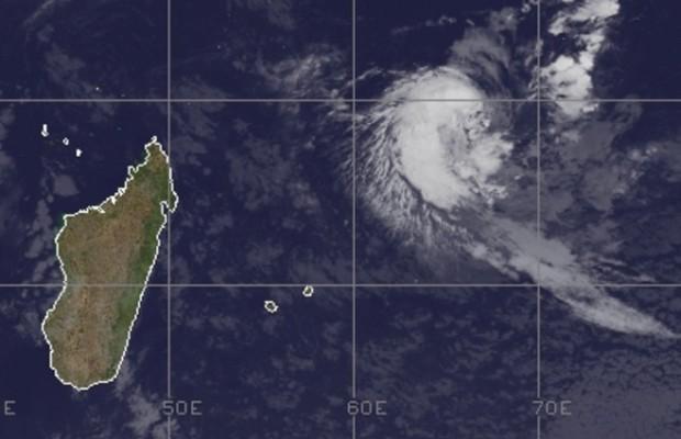 Une dépression tropicale en juillet, en plein hivers à la Réunion