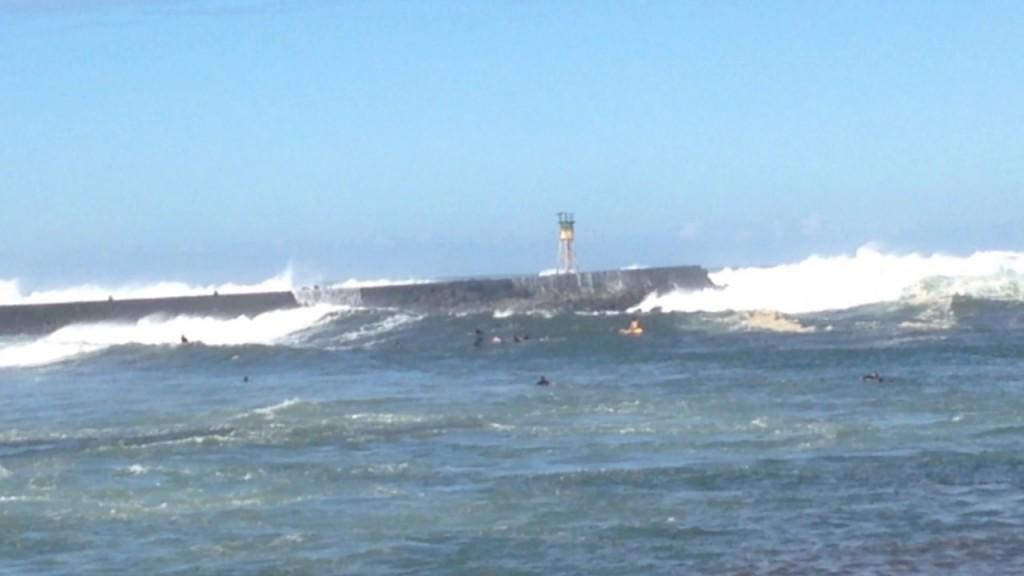 Forte houle : l'appel de la vague plus fort que la raison