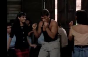 Quand Jean-Claude Vandamme i danse Maloya et i fé Moring !