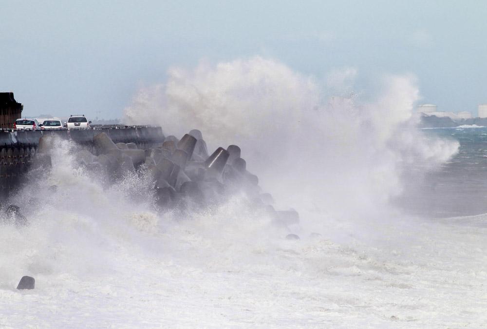 Houle du cyclone felleng