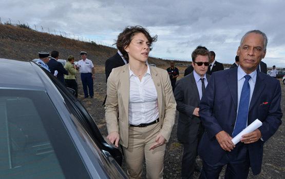 Victorin Lurel à la Réunion