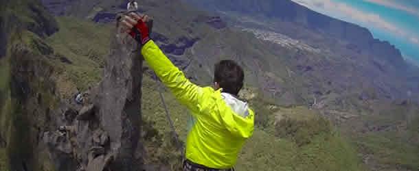 Own Land Highline Reunion Island GOPRO REUNION