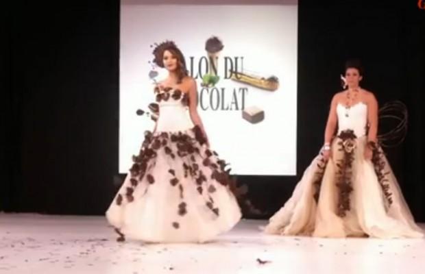 Valérie Bègue au 20éme Salon du Chocolat