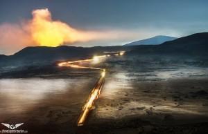 Quand le feu et la glace cohabitent : la Réunion intense