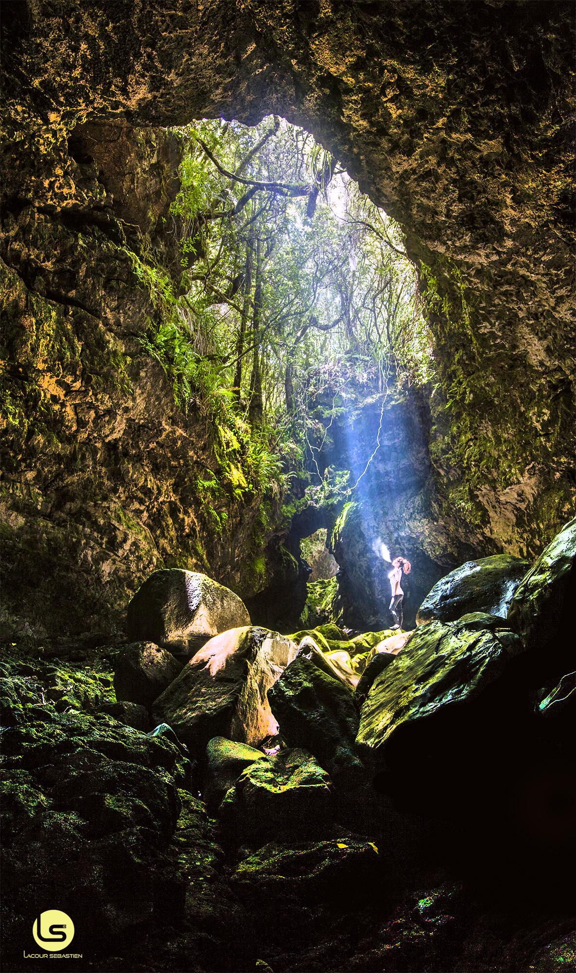 grotte enchantee de la reunion et secrete