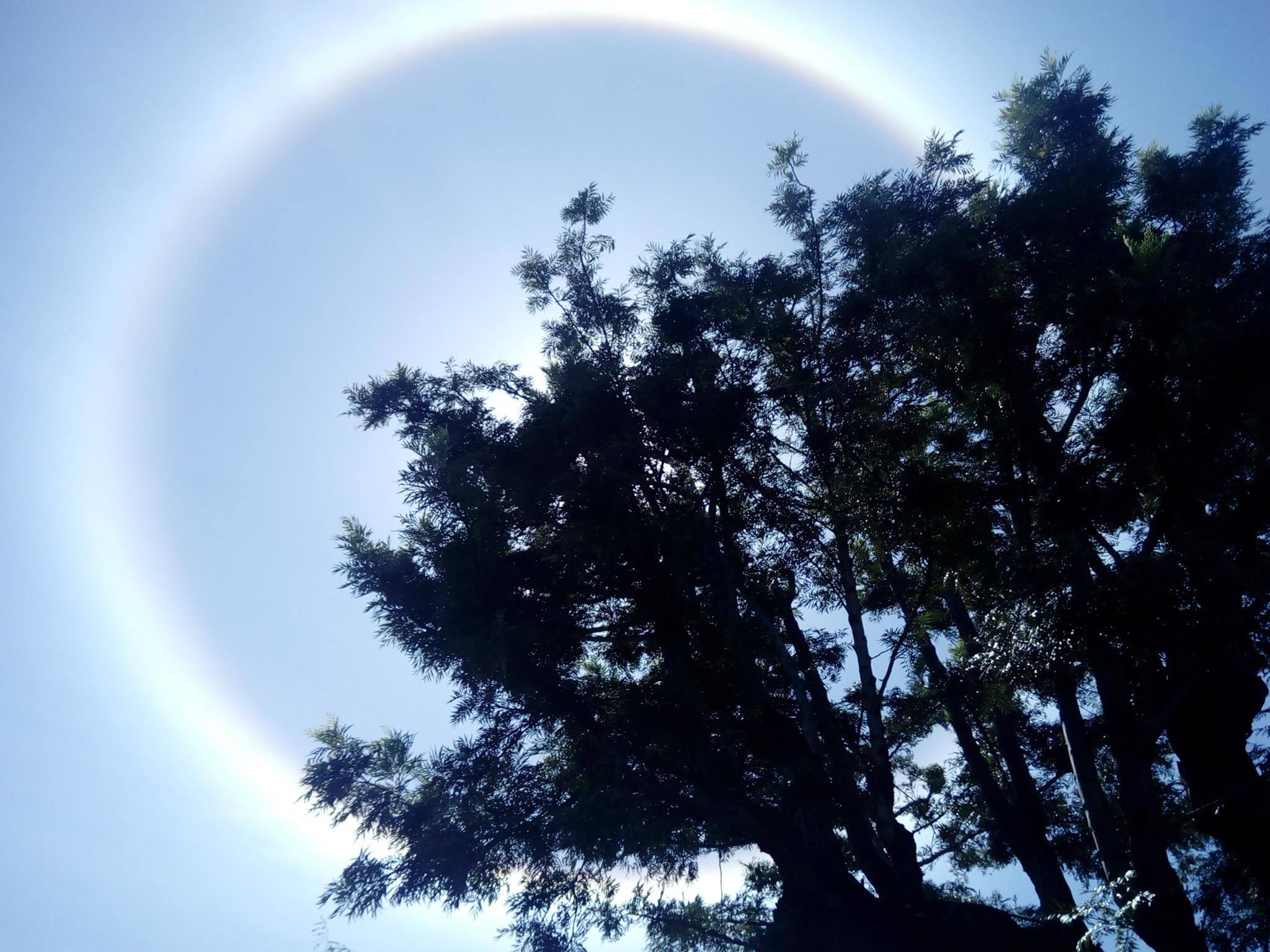 halo solaire réunion