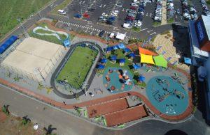 Lancement de la plaine des sports à Decathlon Saint Pierre